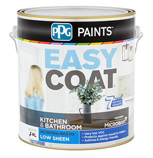 Peachy Easycoat Kitchen Bathroom Paint Ppg Paints Interior Design Ideas Inesswwsoteloinfo